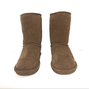 Bear Paw Elle Brown Boots Size 9